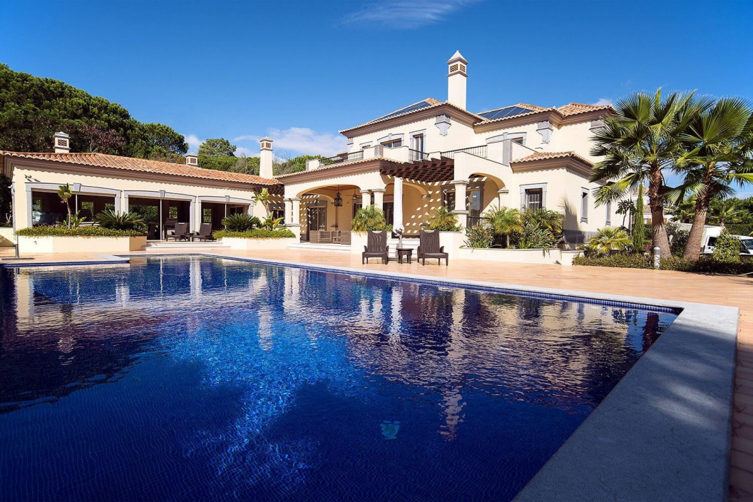 5 Bedroom Villa |  in Quinta do Lago | with Private Pool & Golf Views