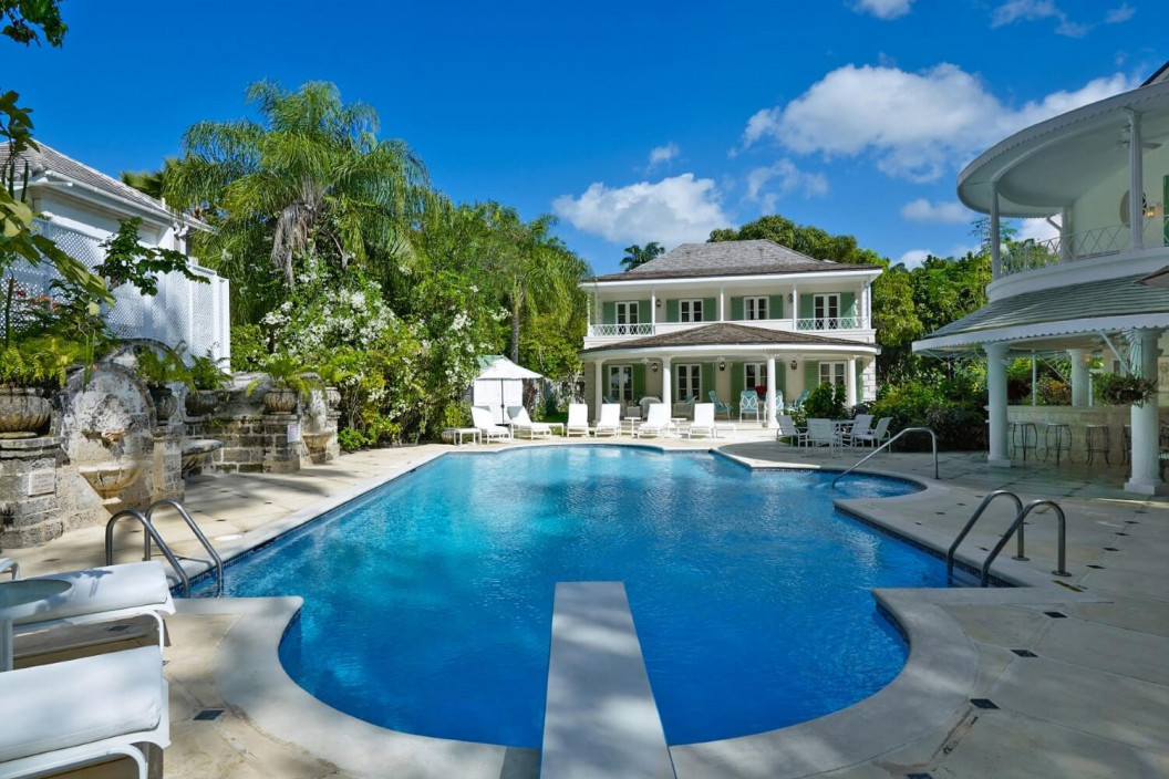 8 Bedroom Beachfront Villa |  in St James | with Speed Boat