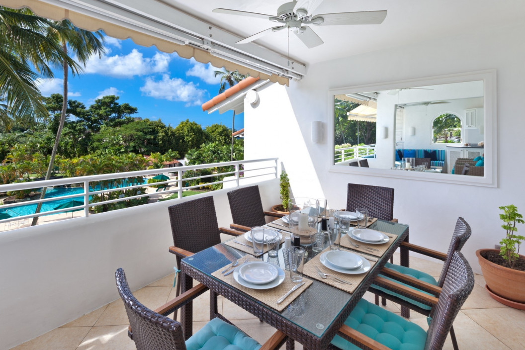 Modern 2 Bedroom Beachfront Apartment in Glitter Bay Estate