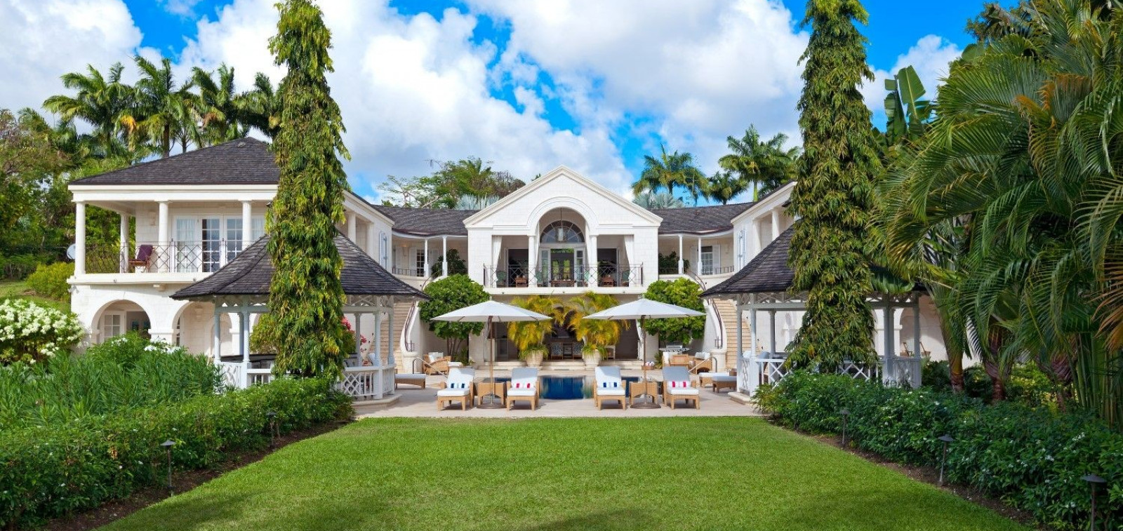 Luxury Gardens and Palm Trees 5 Bedroom Villa Sugar Hill, Barbados with Private Pool, Putting Green & Sea Views