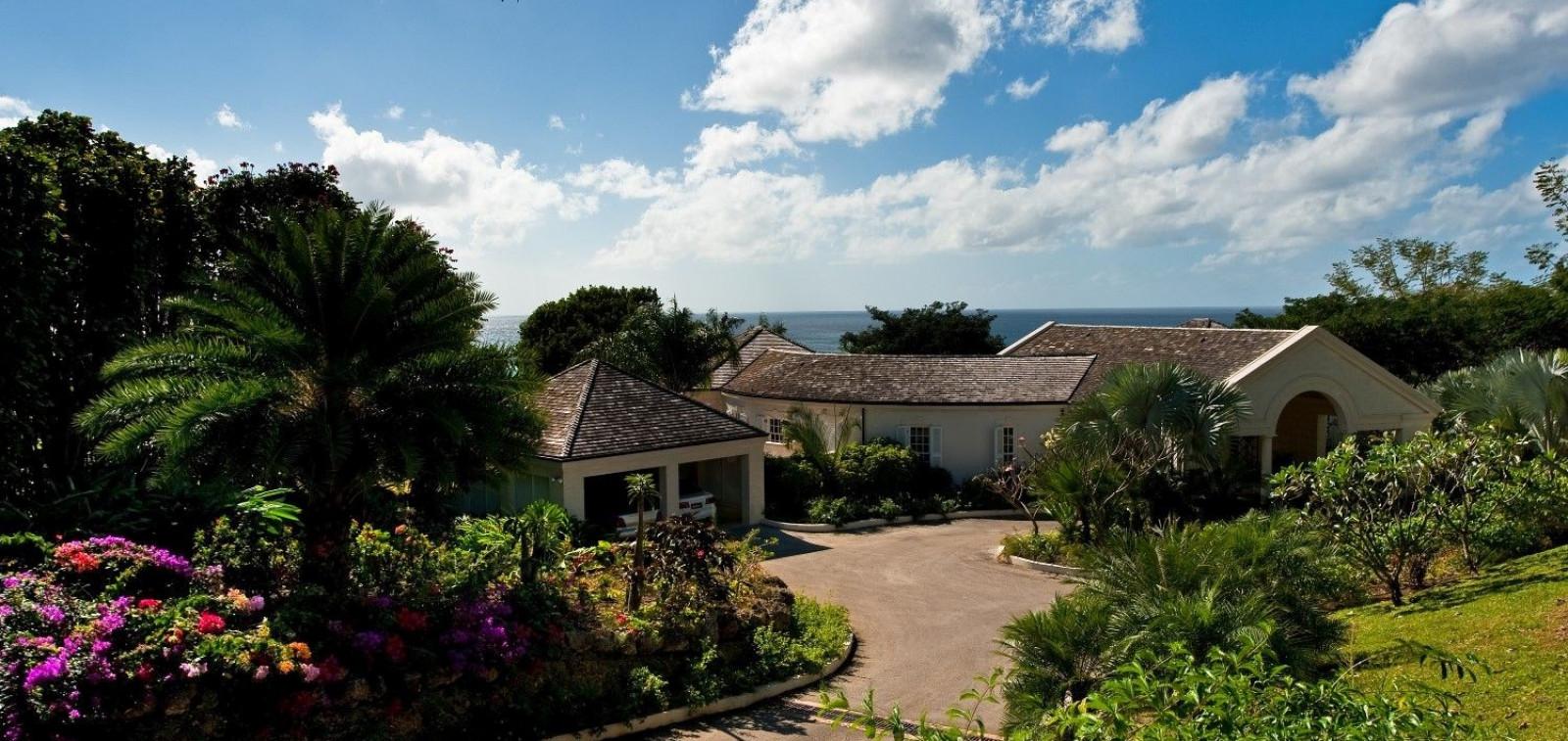 Luxury Gardens 5 Bedroom Villa Sugar Hill, Barbados with Private Pool, Putting Green & Sea Views