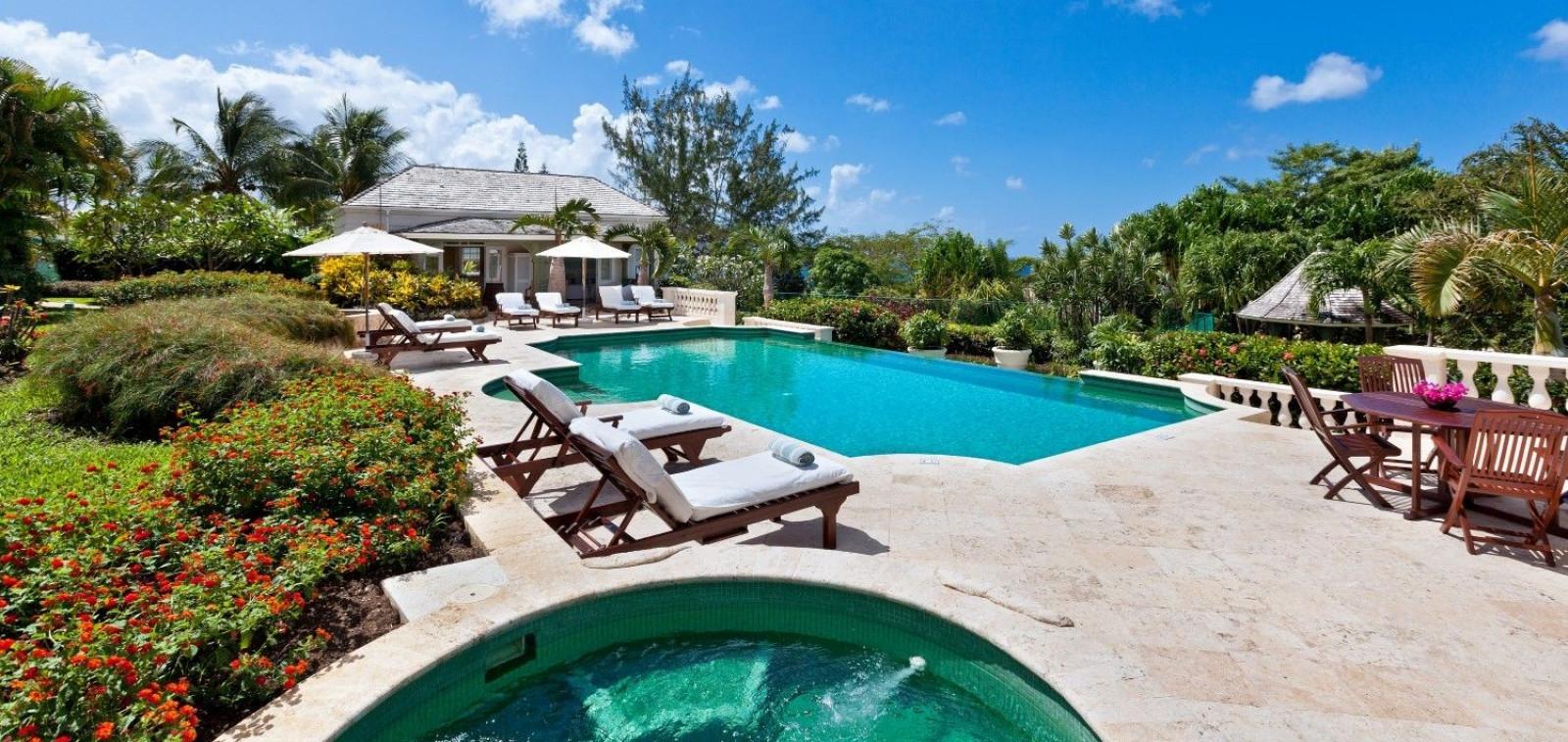 Barbados Villa With Tennis Court