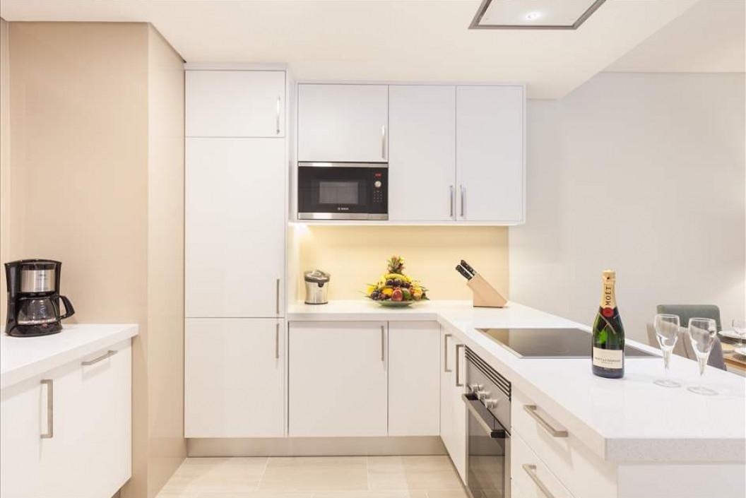 Garden access apartment