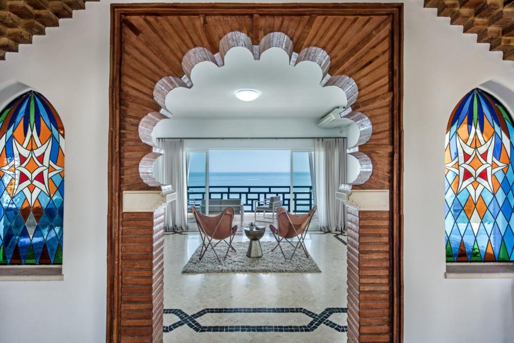 5 Bedroom Moorish Villa   Albufeira   Large Pool and Sea Views