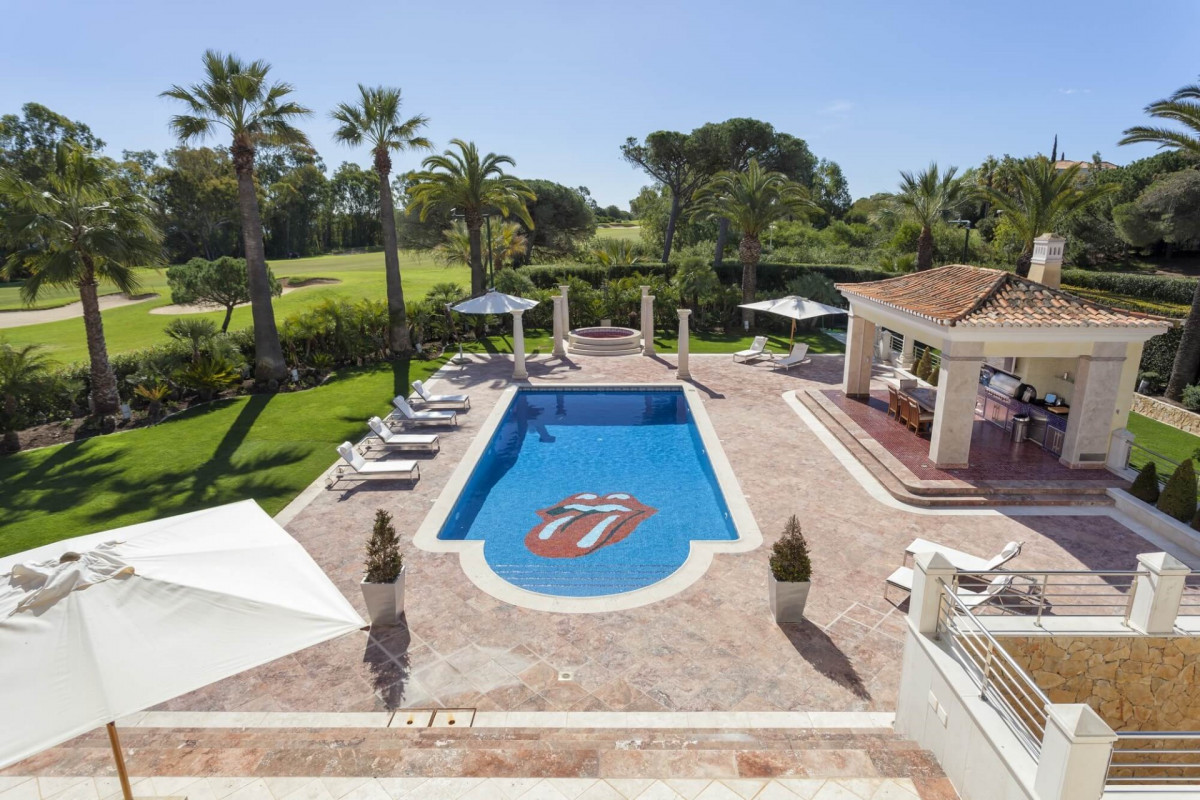 6 Bedroom Villa | in Quinta do Lago | with Large Private Pool & Golf Views