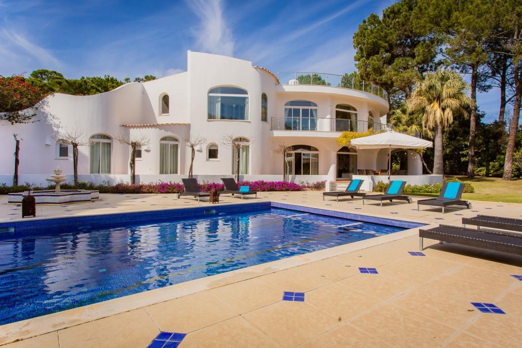Large 8 Bedroom Villa | in Quinta do Lago | Large Pool & Tennis Court