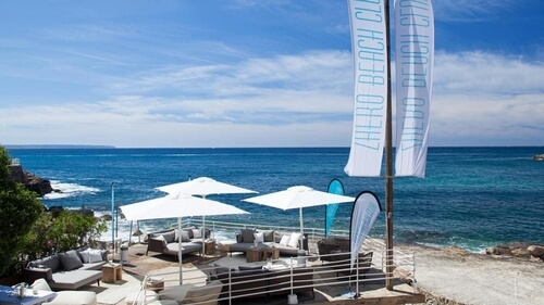 Zhero Beach Club, near Palma de Mallorca